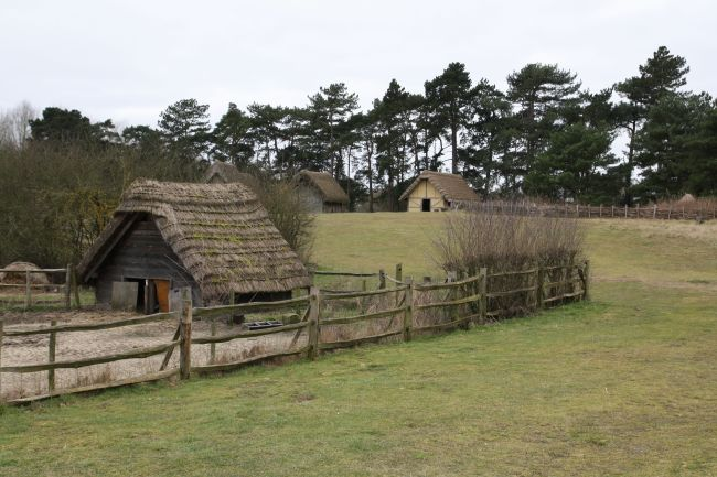 Reconstructed village