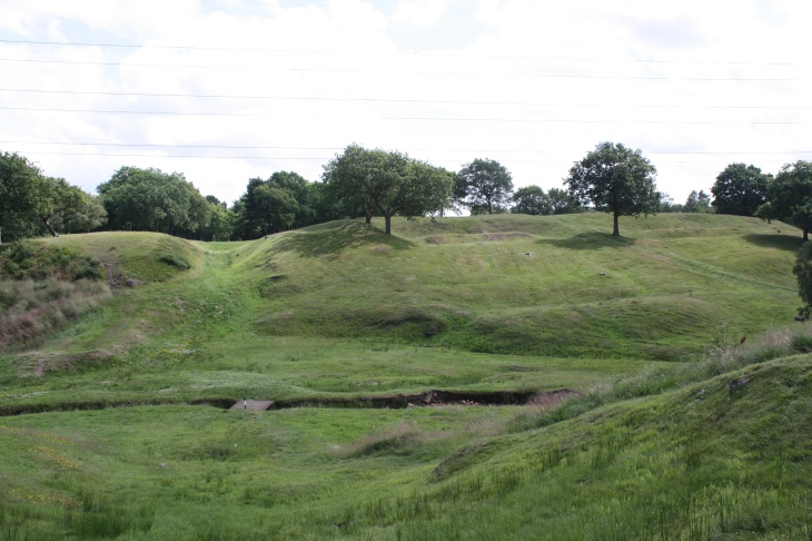 Rough Castle looking east, Antonine Wall