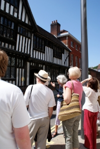 Heritage Walk in Ipswich
