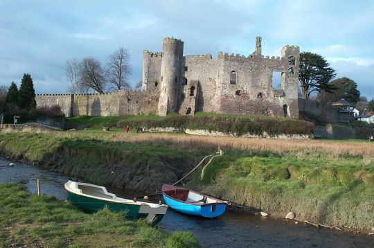Laugharne Castle © David Gill
