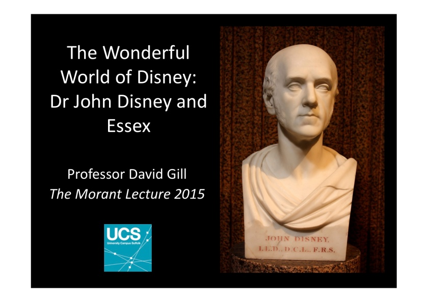 The Morant Lecture 2015