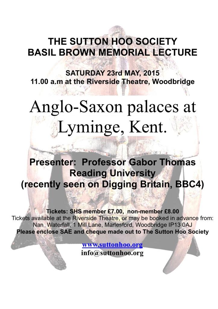 Basil Brown Memorial Lecture 2015